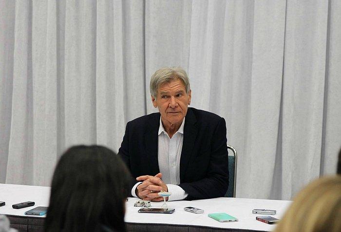 Star Wars Harrison Ford Interview