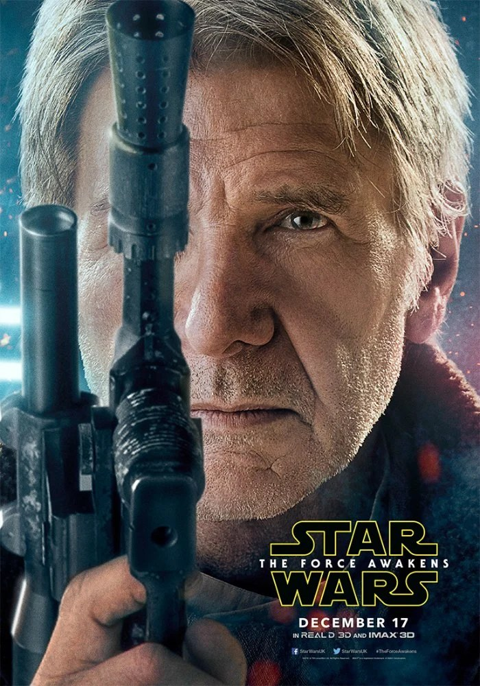Star Wars The Force Awakens Han Solo Poster