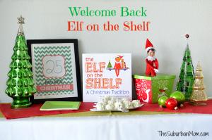 Welcome Back Elf on the Shelf
