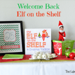 Welcome Back Elf on the Shelf