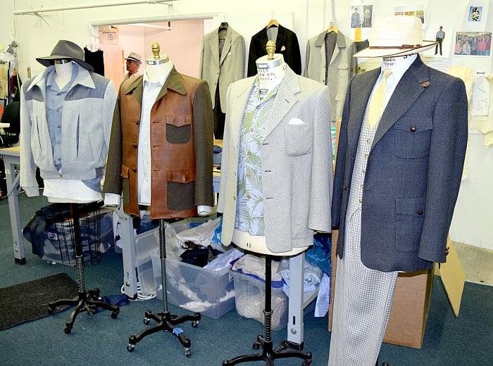 Agent Carter Men's California Wardrobe