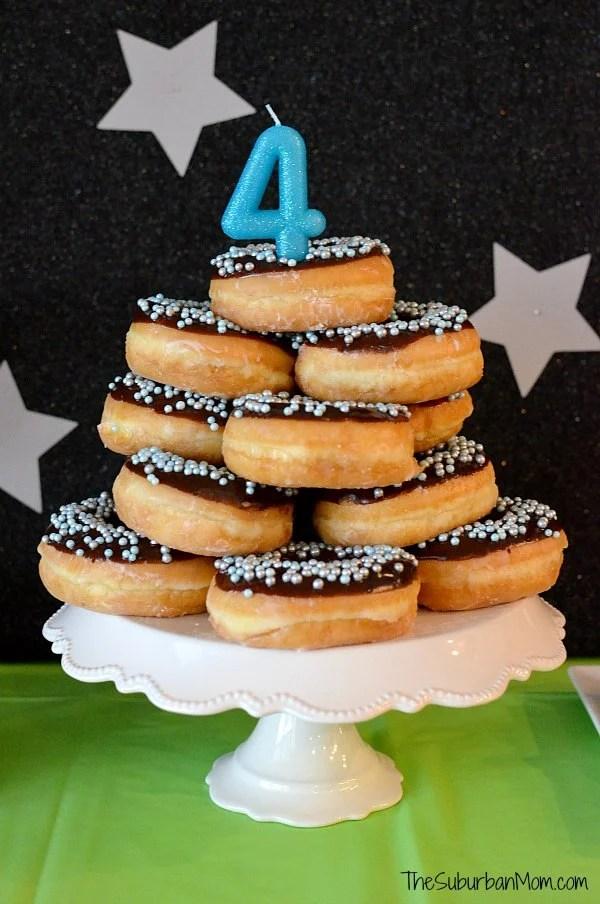 Homemade Donut Cake
