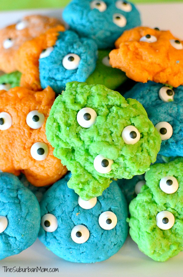 Miles From Tomorrowland Alien Cookies