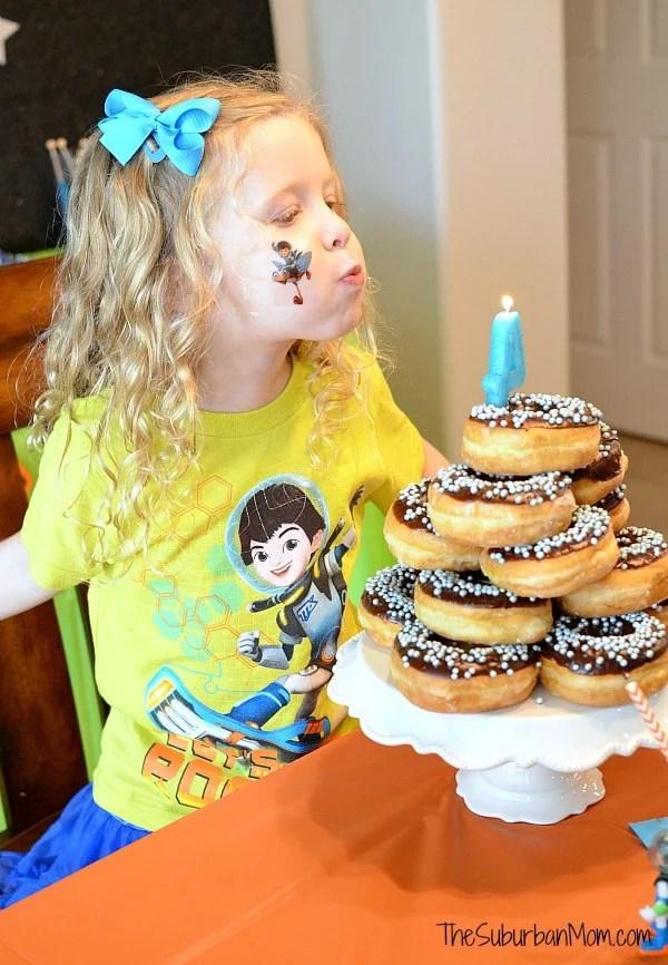 Miles From Tomorrowland Birthday Cake