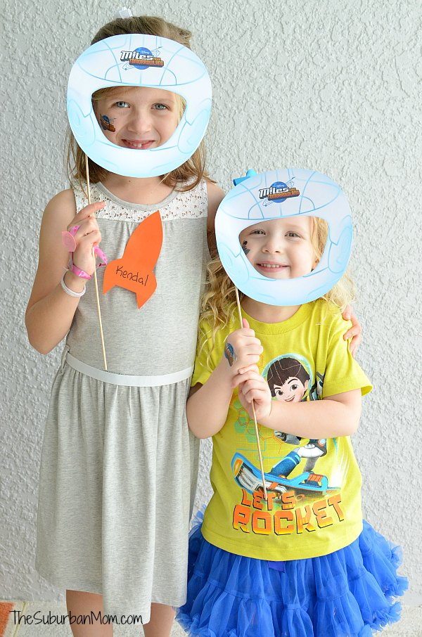 Miles From Tomorrowland Birthday Party Photobooth