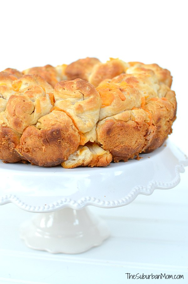 Cheese Bacon Pull Apart Bread