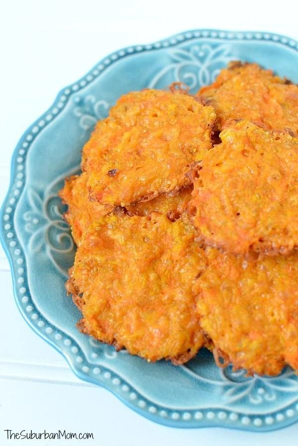 Cheesy Carrot Cakes