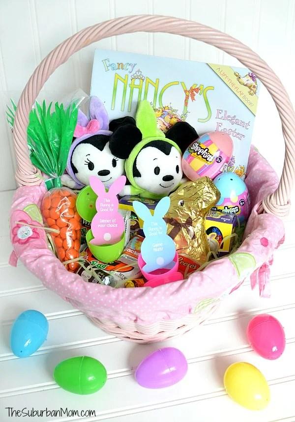 Girls Easter Basket