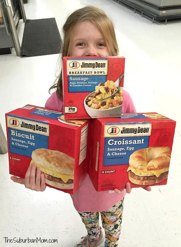 Jimmy Dean Breakfast at Walmart