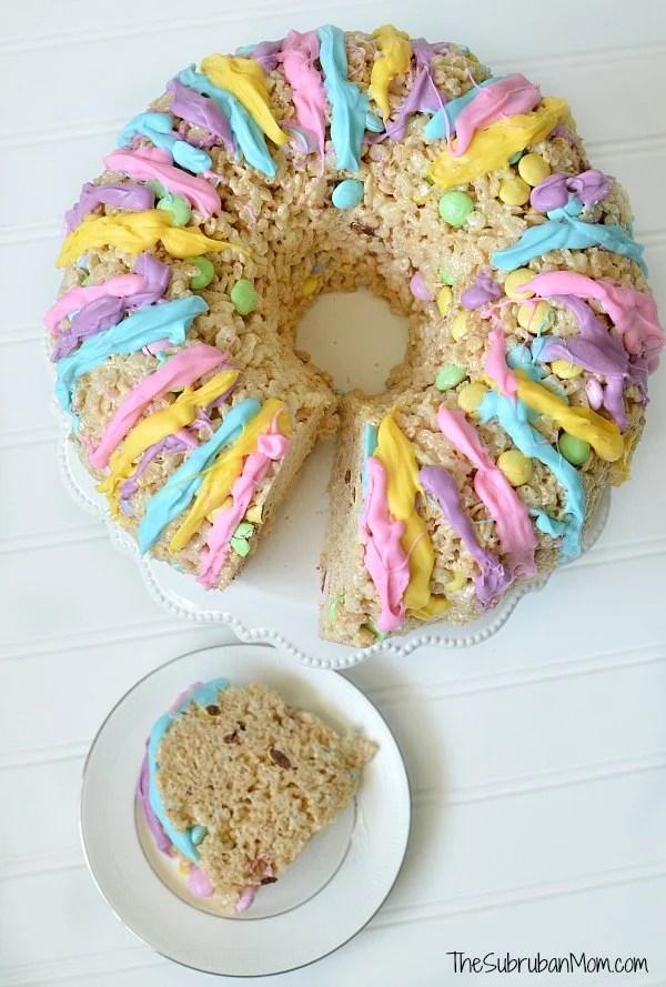 Rice Krispies Treat Cake Dessert