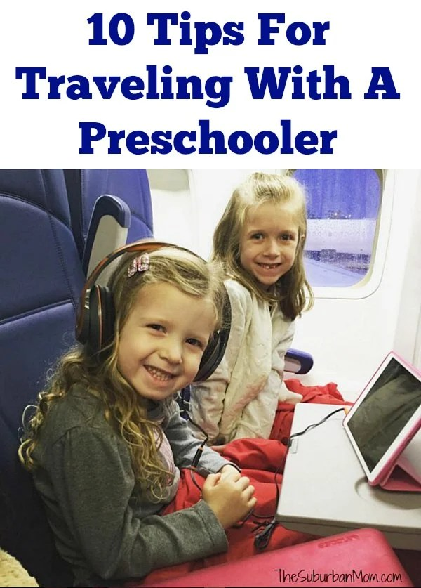Tips For Traveling With A Preschooler