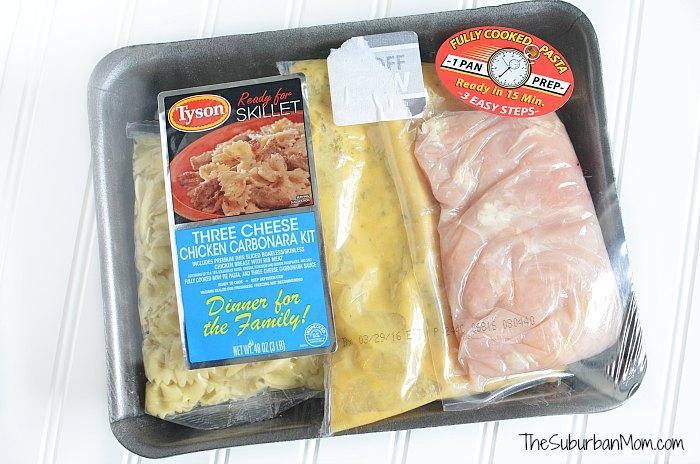 Tyson Meal Kit