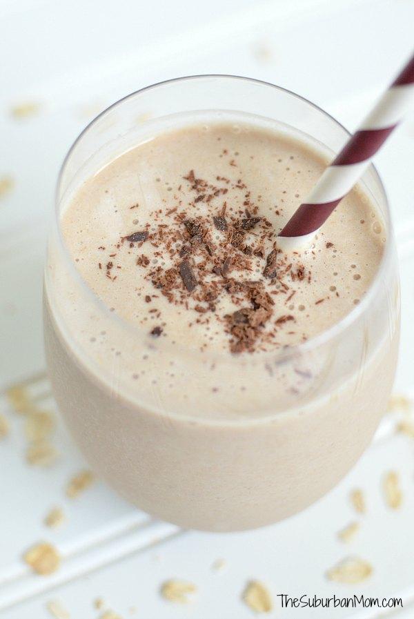 Chocolate Banana Oatmeal Smoothie