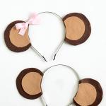 Monkey Ears Headband Tutorial