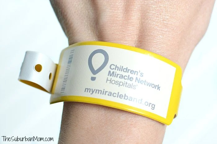 Children's Miracle Network Hospitals Miracle Band