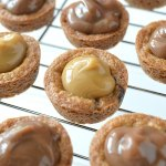 Mocha Latte Pudding Cookie Cups