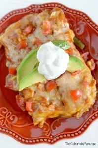 Slow Cooker Enchiladas Recipe