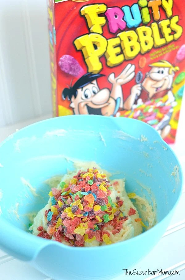 Fruity Pebbles Cheeseball Ingredients