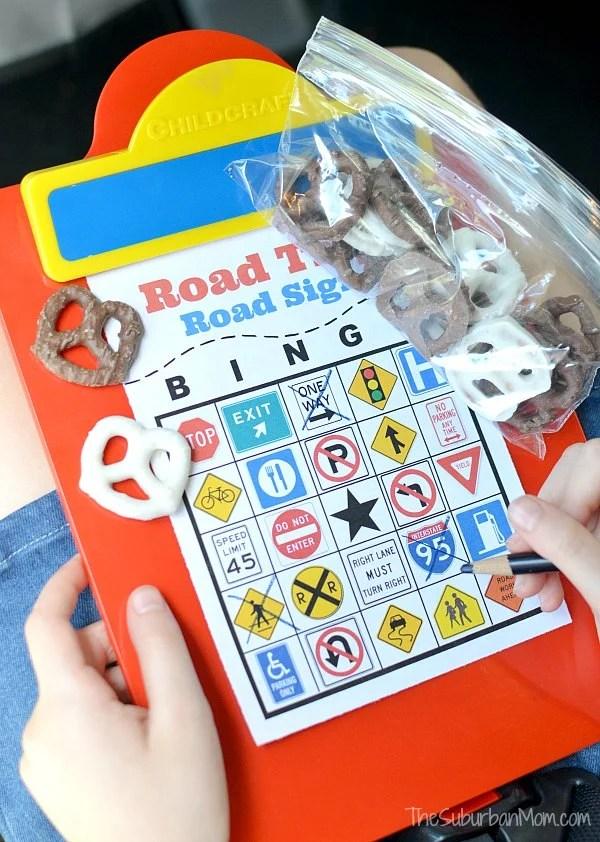 Road Signs Bingo