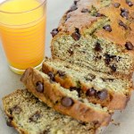 Chocolate Chip Banana Bread Orange Juice
