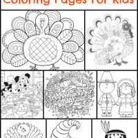 +130 Thanksgiving Coloring Pages For Kids