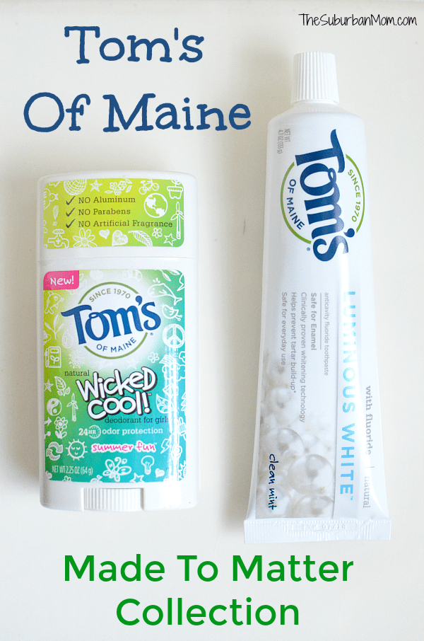 Tom's of Maine Made to Matter