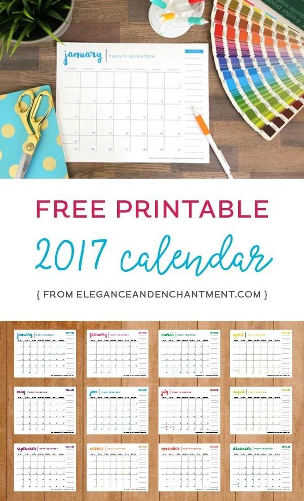 Free Printable 2017 Calendar.j