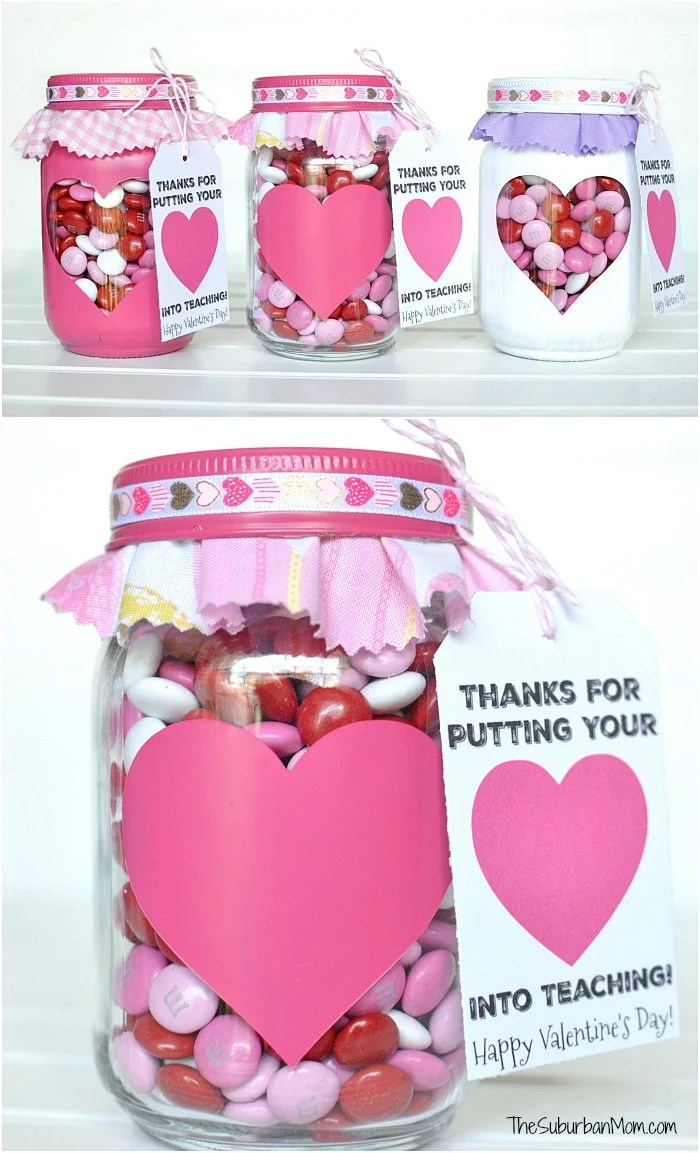 Valentine S Day Gift For Teachers And Printable Gift Tag The