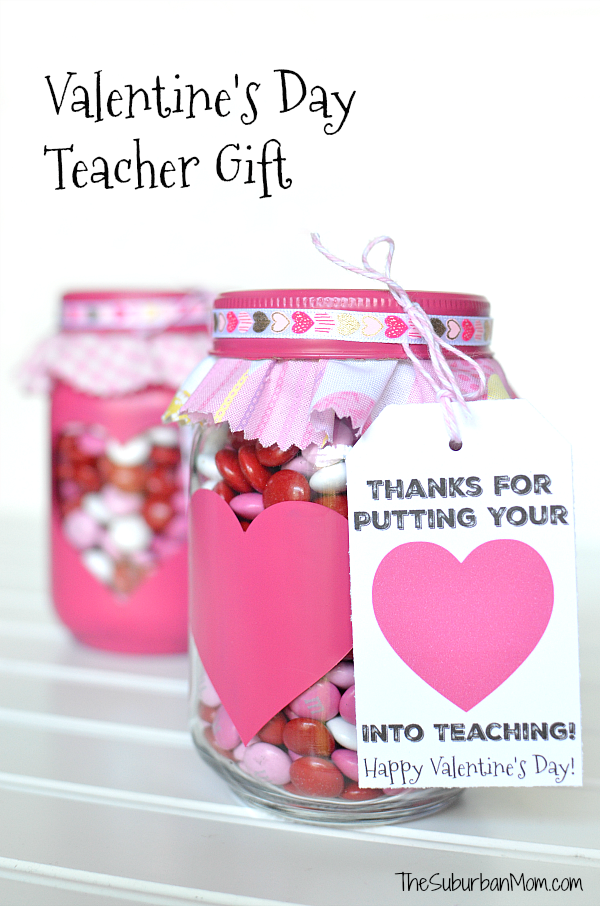 image about Printable Valentine Cards for Teachers known as Valentines Working day Present For Instructors And Printable Reward Tag