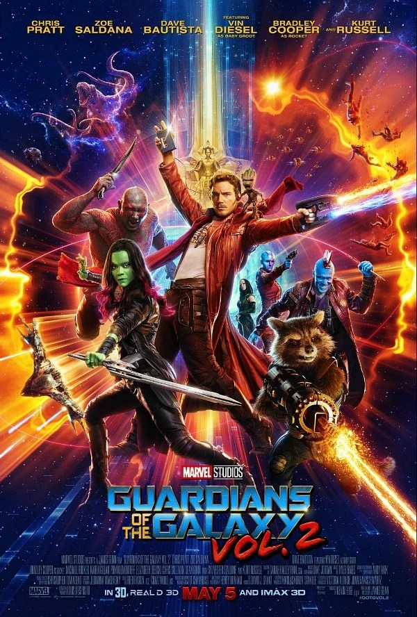 Guardians of the Galaxy Vol 2 Movie Poster