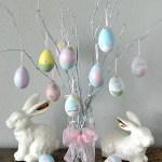 DIY Easter Egg Tree Decoration