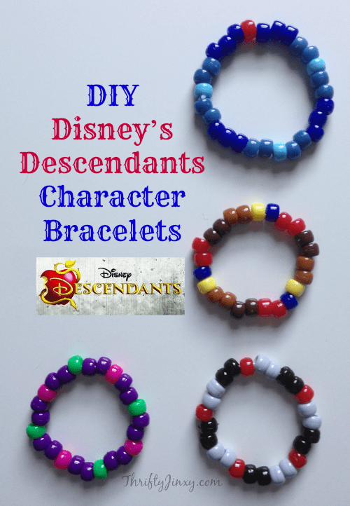 DIY-Disney-Descendants-Bracelets
