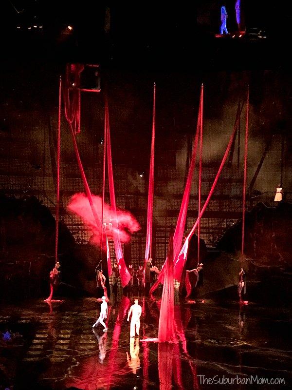 La Nouba Red Silks