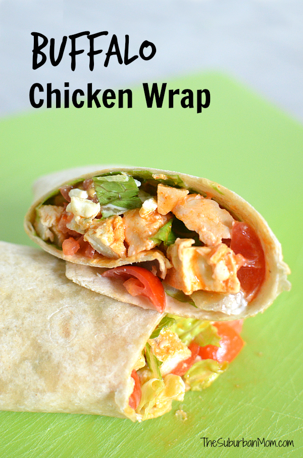 Buffalo Chicken Wrap Recipe
