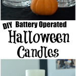 Battery Operated Halloween Candles Craft – With Free Printable