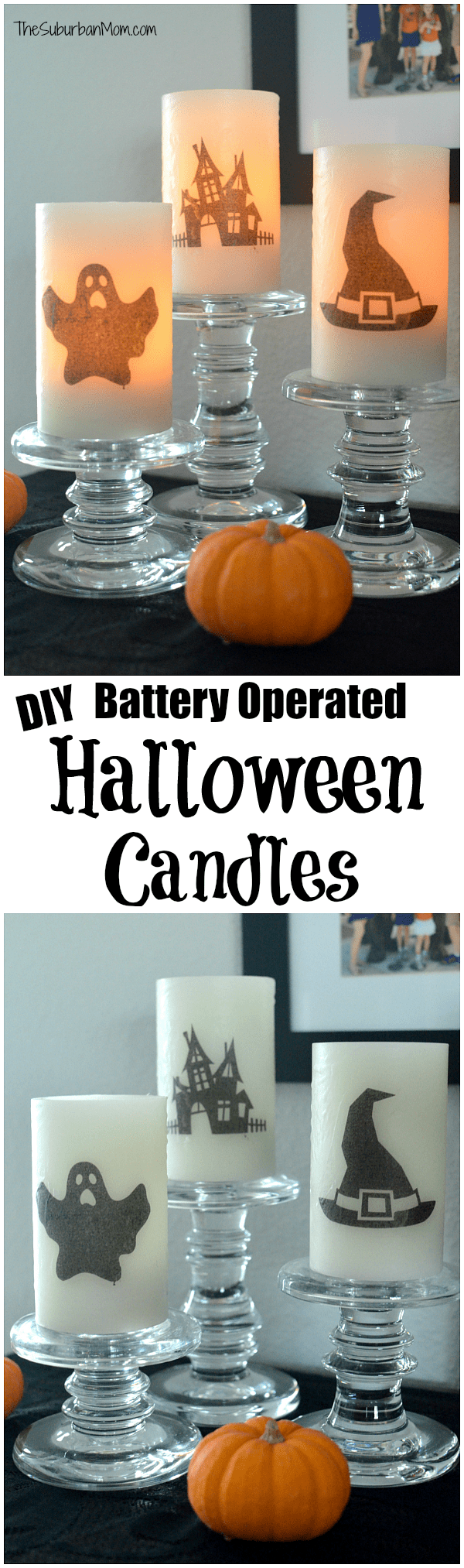 Battery Operated Halloween Candles