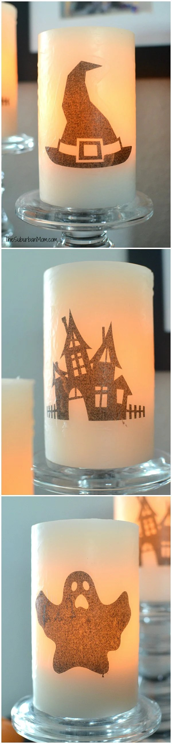 Battery Operated Halloween Candles Craft