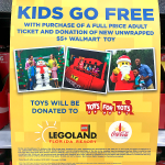 Free Kids Ticket to Legoland