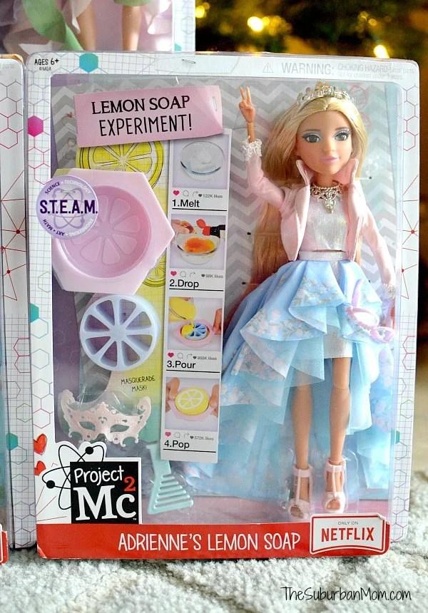Project MC2 Adrienne Lemon Soap