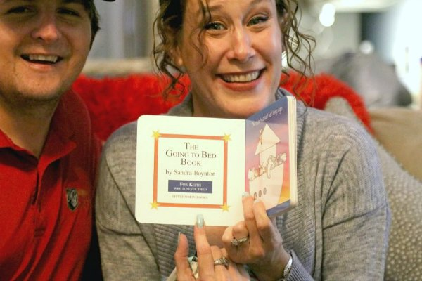 Going To Bed Book Dedication