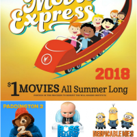 Regal Summer Movie Express 2018 $1 Movie Schedule