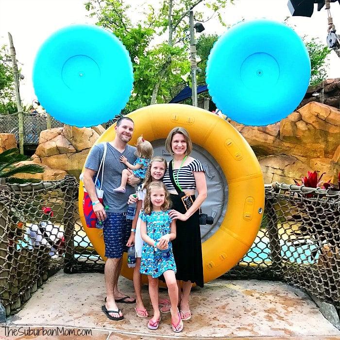 Typhoon Lagoon Family Photo
