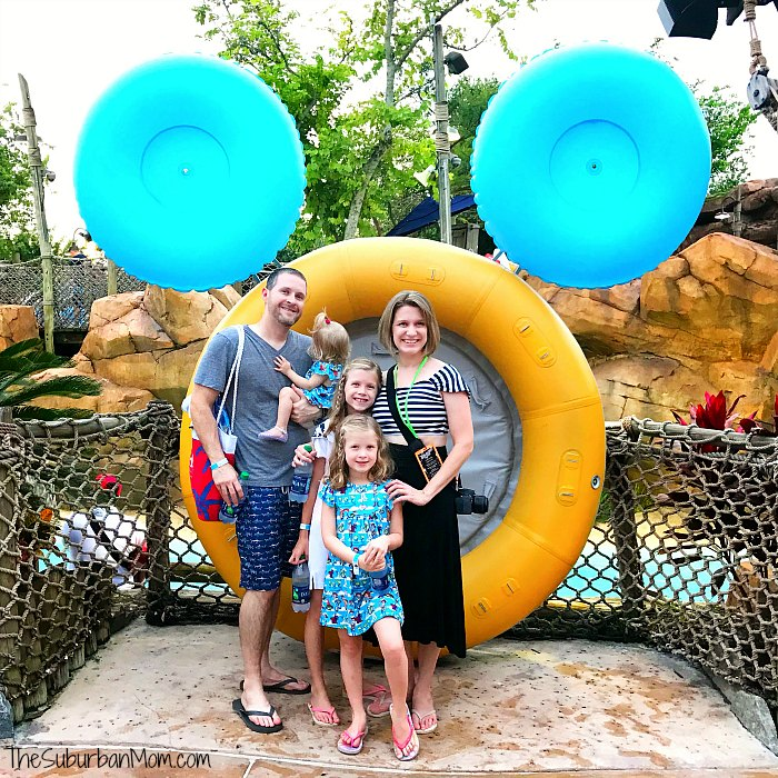 Typhoon Lagoon Family Photo