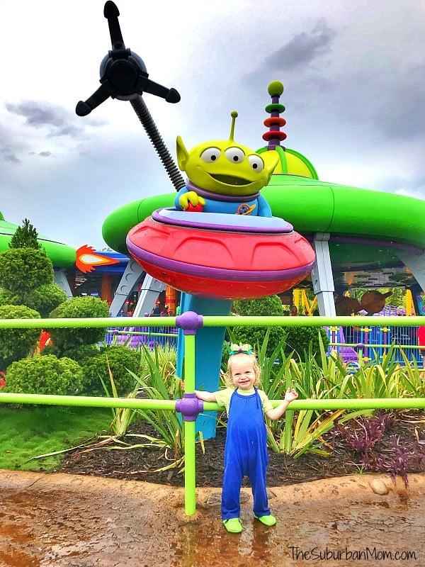 Toy Story Land Green Alien