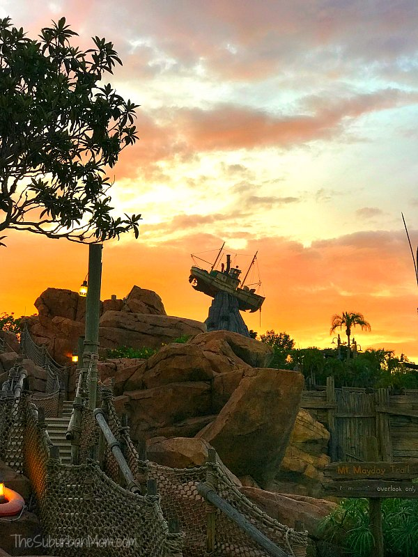 Typhoon Lagoon Sunset
