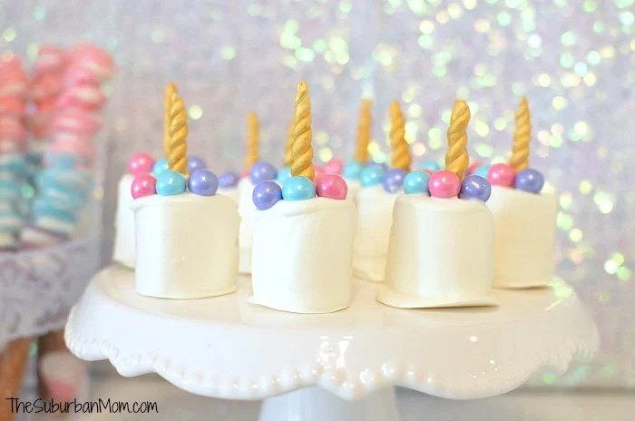Unicorn Marshmallow Treats