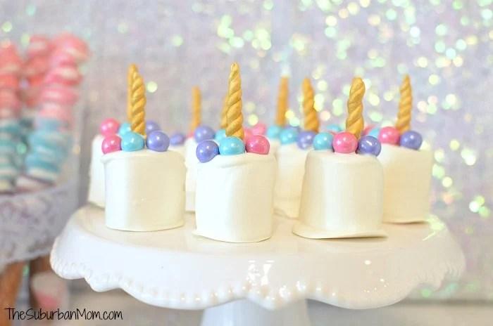Unicorn Marshmallow Treats