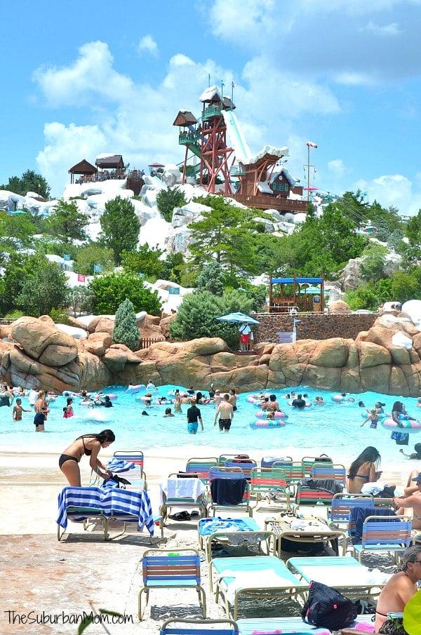 Disney Blizzard Beach Melt Away Bay