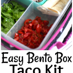 Easy Bento Box Recipe: Ham And Cheese Lunchbox Tacos
