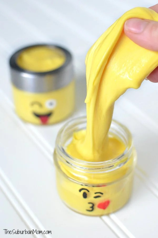 Fluffy Emoji Slime